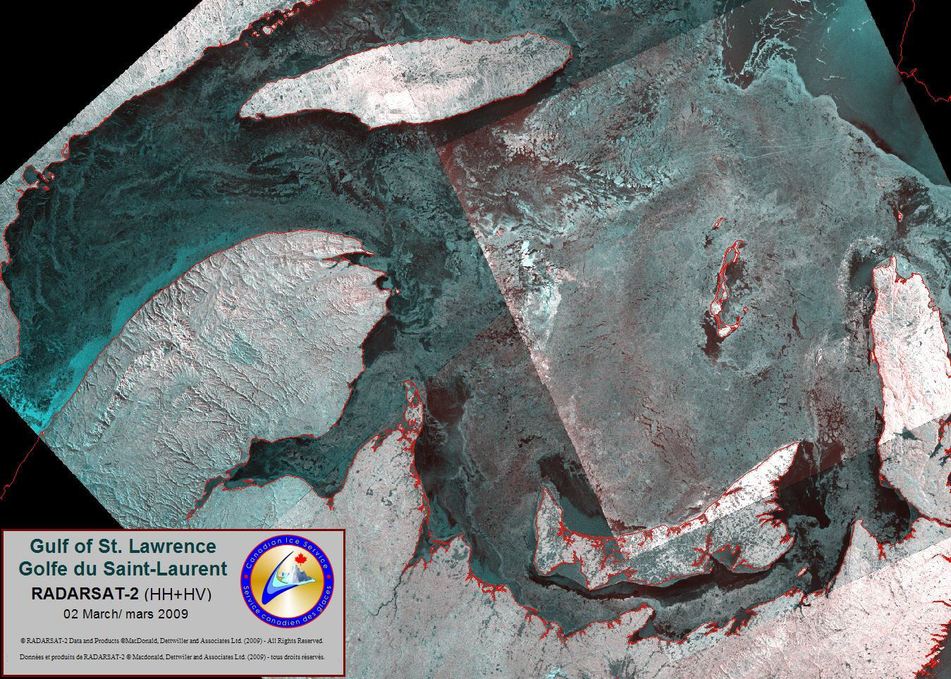 Image of the Gulf of St.Lawrence